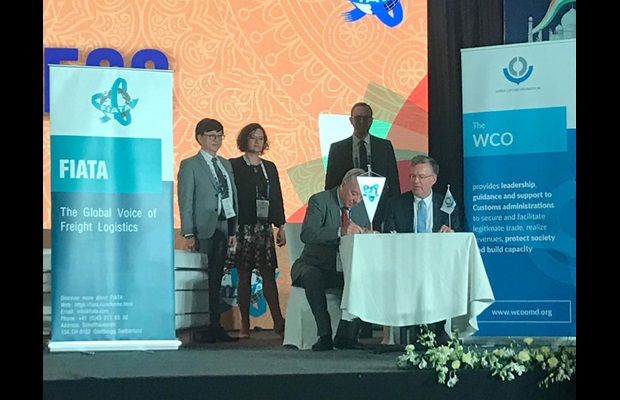 FIATA signs agreement with WCO to cooperate in training & education