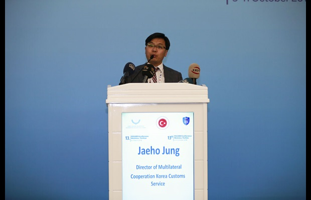 Mr. Jaeho Jung, Director of Multilateral Cooperation, Korea Customs Service