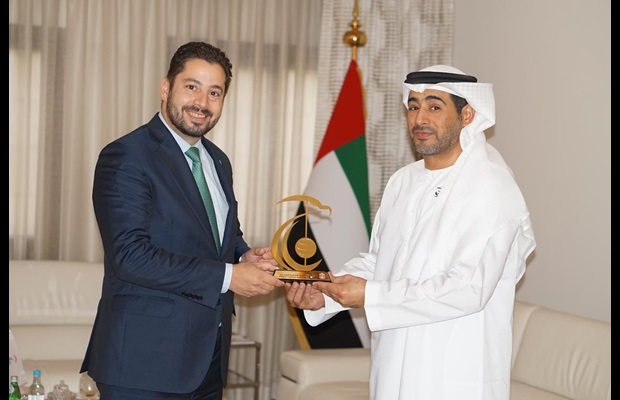 Deputy Secretary General Treviño discussed with H.E. Ali Saeed Al Neyadi, Commissioner of Customs and Chairman of the FCA, the importance of the use of IT to ensure relevance of Customs with regard to new and future challenges