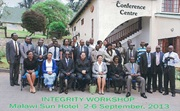 Integrity Development National Workshop in Malawi