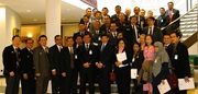 The delegation from the National Resilience Institute of the Republic of Indonesia, headed by the Lieutenant General (Air Force) Dede Rusamsi, SE, Vice Governor of this Institute, was welcomed by WCO Secretary General Kunio Mikuriya on 2 September 2014.
