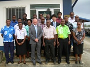 WCO Risk Management Workshop Vanuatu, Department of Customs and Inland Revenue