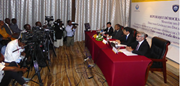 Press Conference, Operation Westerlies 3, Kinshasa, Democratic Republic of the Congo, 24 September 2015