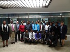 The ZIMRA trainers together with the participants from 13 CBRAs and the WCO experts gathered at the ZIMRA offices in Harare.