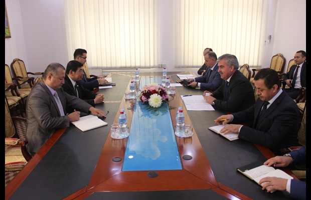 During his visit, Secretary General had also the opportunity to meet with Tajikistan's Minister of Finance, Mr. Fayziddin Qahhorzoda, and discuss in greater detail on the way forward for modernizing Tajikistan Customs
