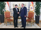 Secretary General Mikuriya was received by the President of Tajikistan, H.E. Emomali Rahmon, to exchange views on the status of Customs modernization