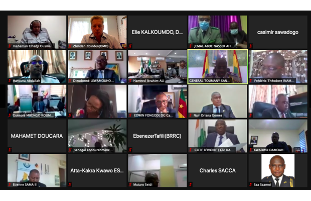 Some participants of the virtual Conference