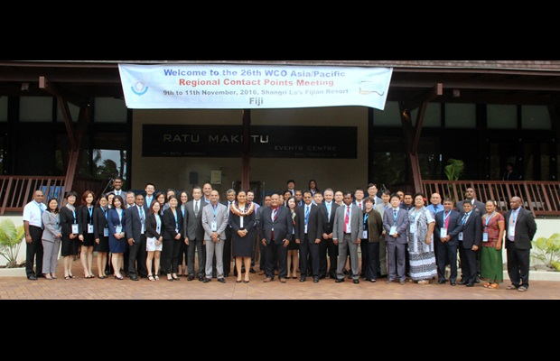 The WCO Asia/Pacific Regional Contact Points successfully concluded their 26th Meeting in Fiji to develop the Regional Strategic Plan 2016-18